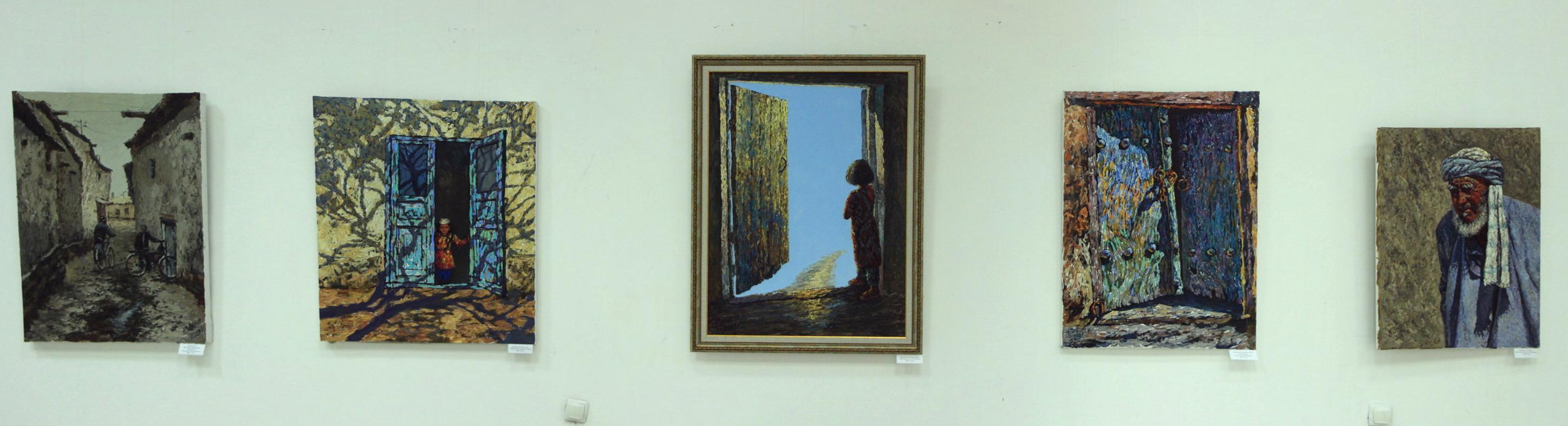 Дилором Мамедова. Экспозиция картин.