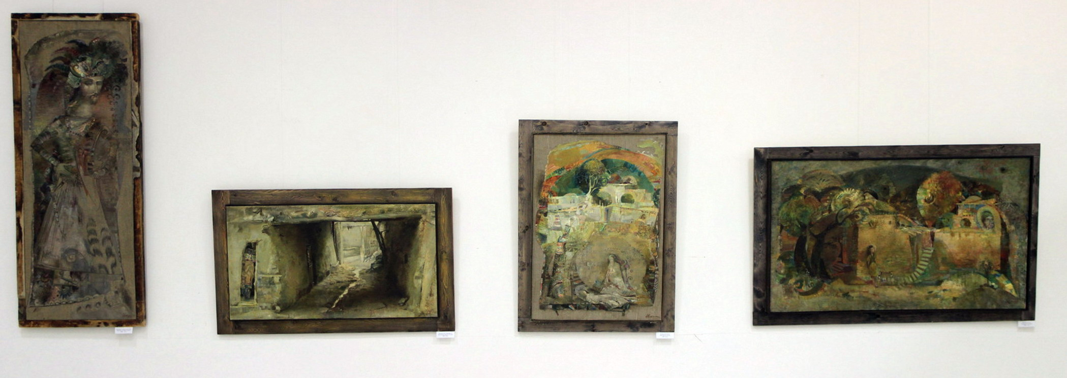 Экспозиция картин Б. Махкамова
