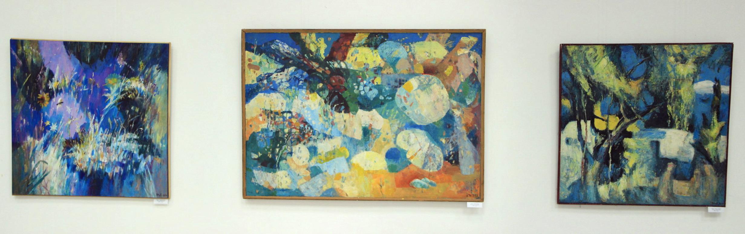 Экспозиция картин Чуб Владимира