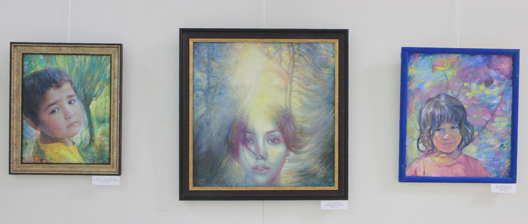 Экспозиция картин Маргариты Шуваловой
