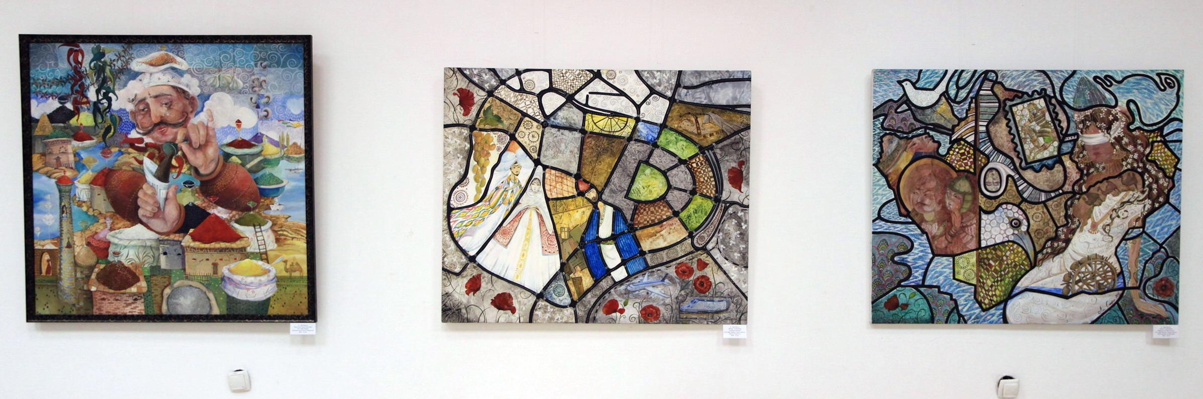 Экспозиция картин Марии ЛИ-Сафи