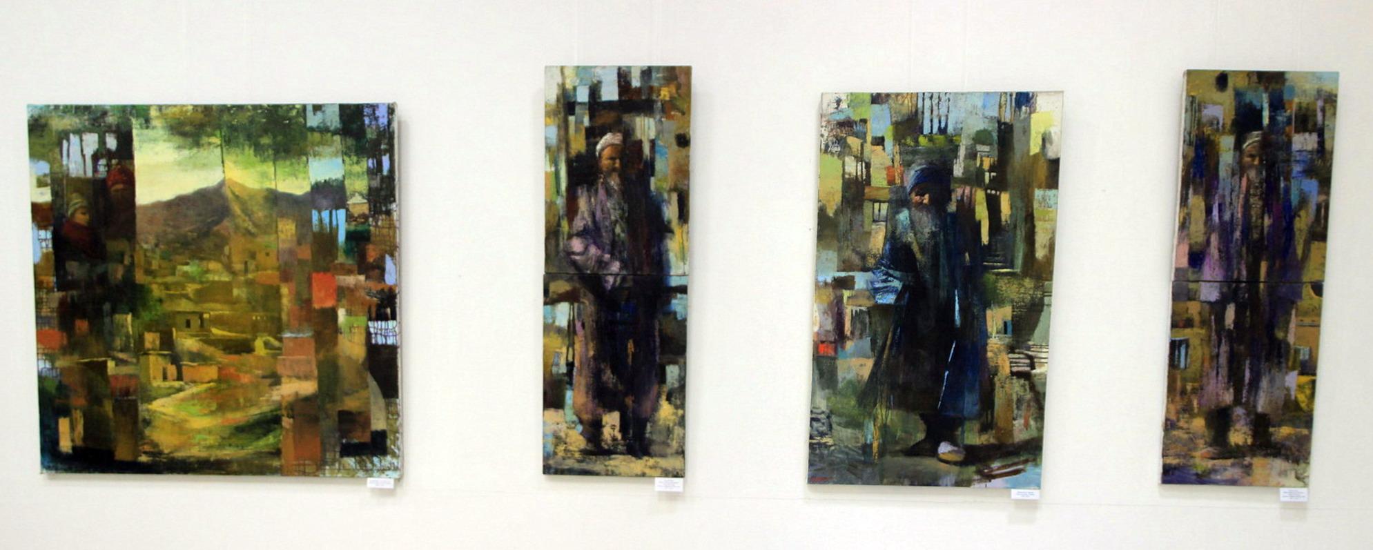 Экспозиция картин Рональда Кляйера