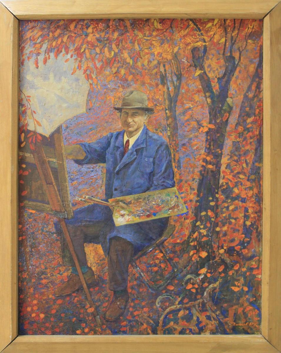 Р. Эминов. Последняя осень. 1986