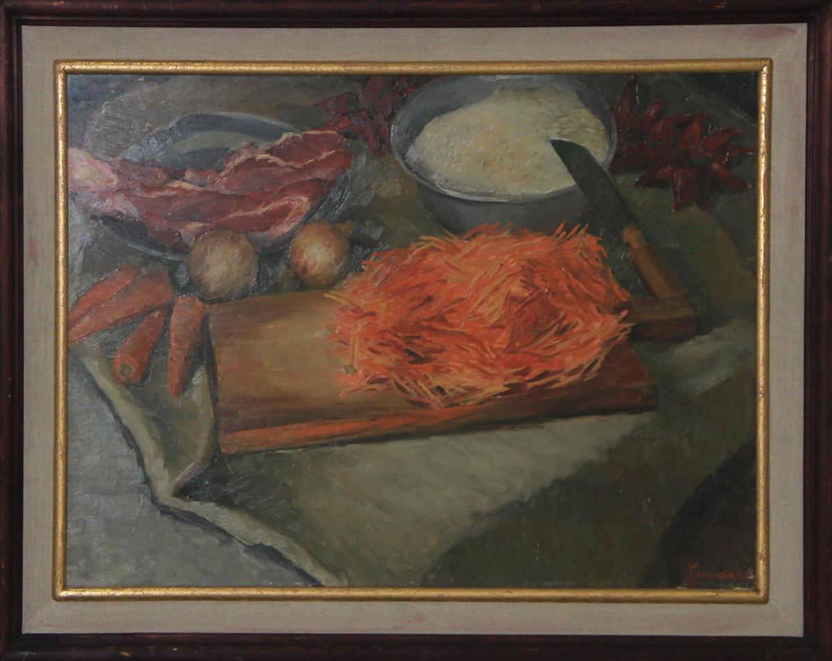 Колыбанов С. Натюрморт «Букет Плов». 1966