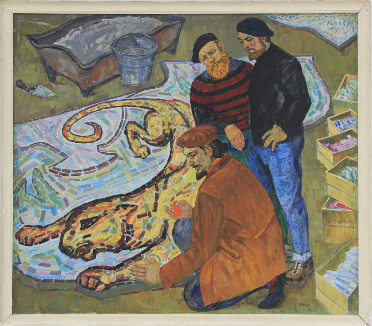 Кучкар Насыров. Монументалисты. 1974 (ДХВ)