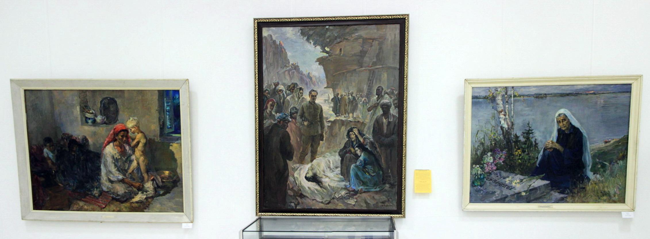 Лев Резников Экспозиция картин. 08. 2018
