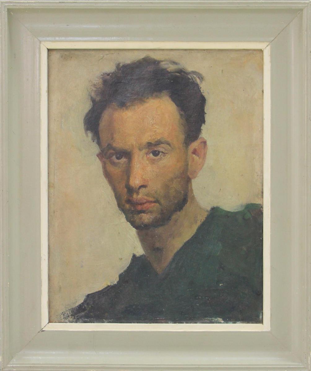 Лев Резников. Автопортрет. 1952 (Из собрания В. Ювневича)