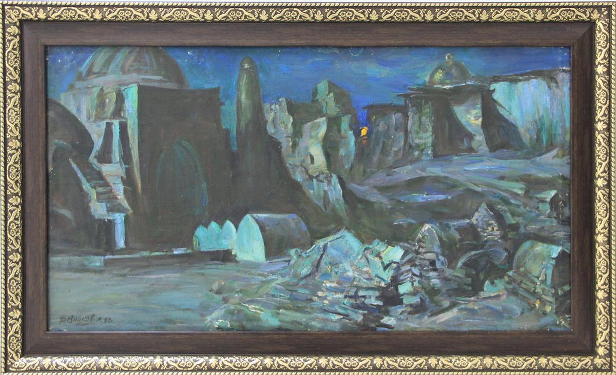 Лев Резников. Лунная Хива. 1990 (Zero Line - подарок И. Резникова )