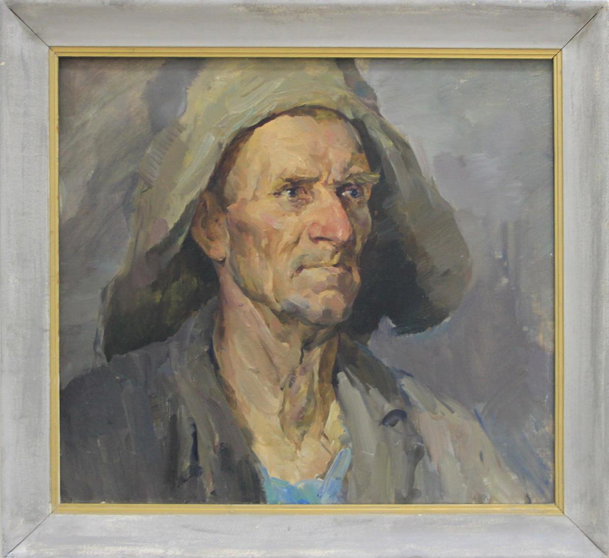 Лев Резников. Рыбак. 1964 (ДХВ)