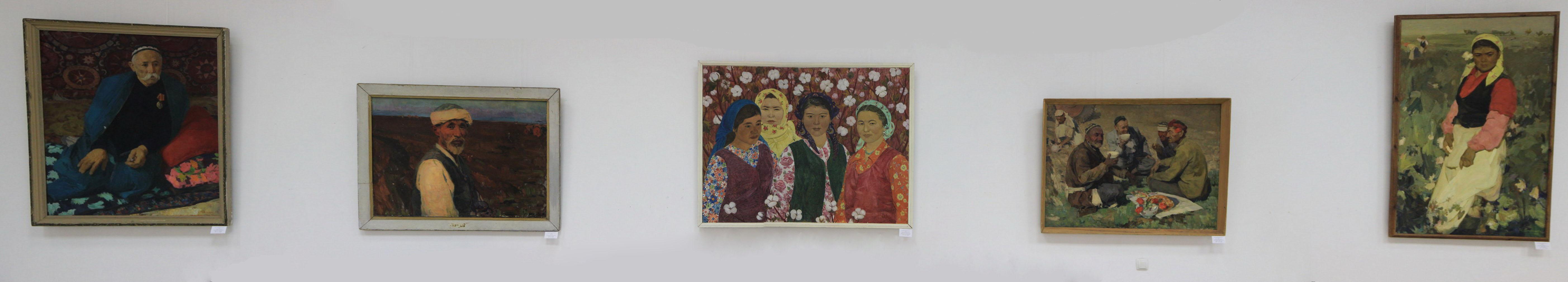 Нина Ковина (Скорикова). Экспозиция картин.