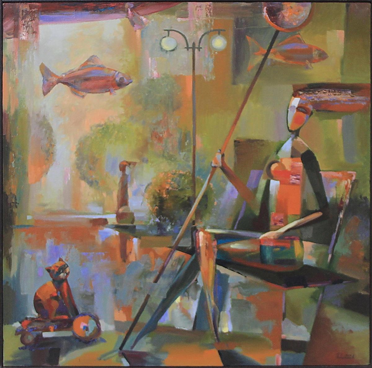 Поваринис В. Ловись рыбка. 2016