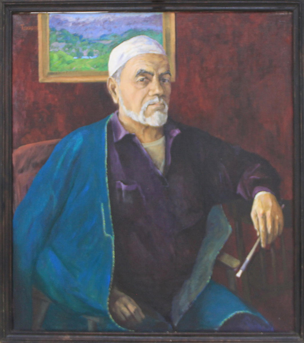 Тахиров Пахриддин. Автопортрет. 2003