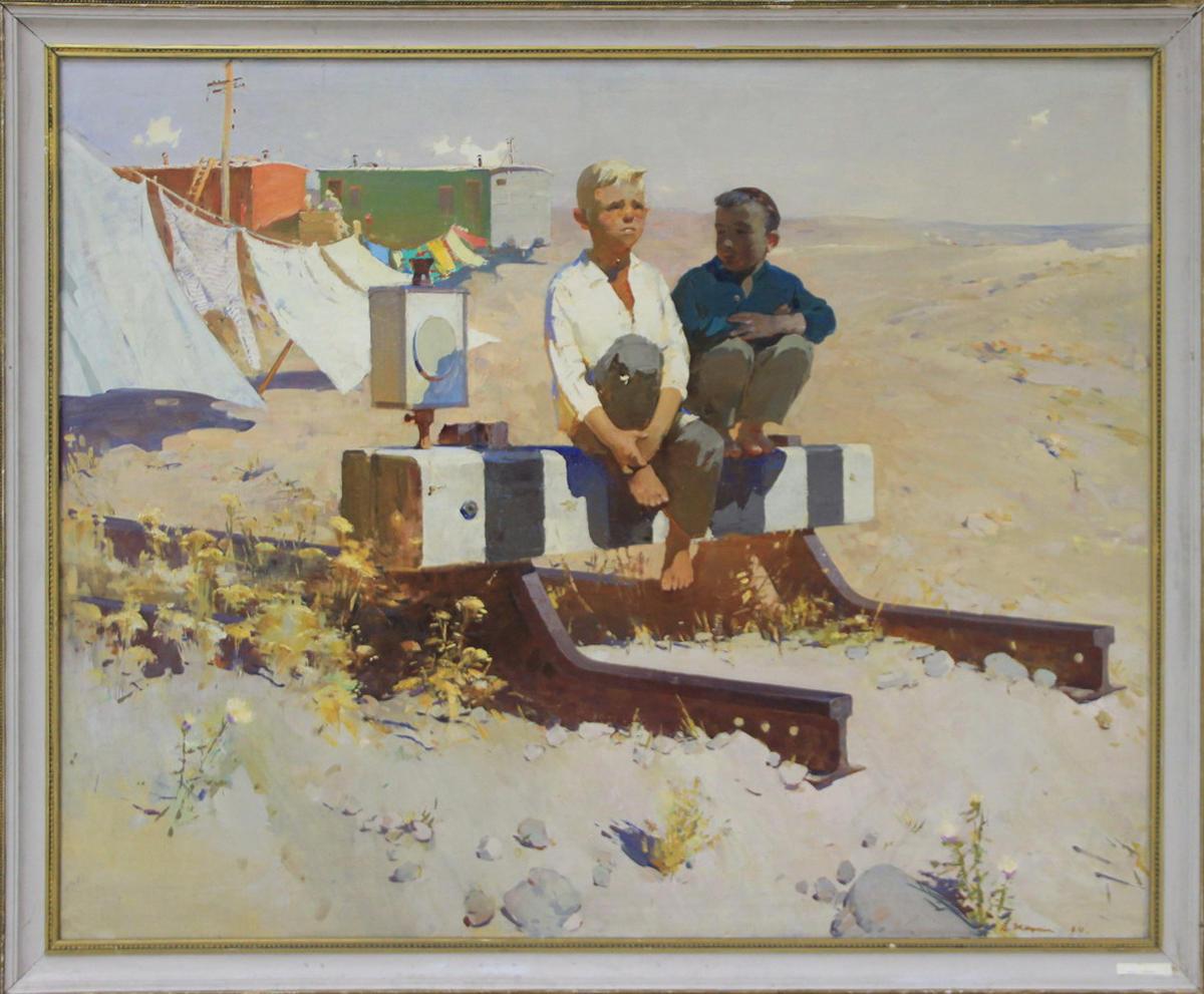 В. Жмакин. Мальчики. 1963 (ДХВ)