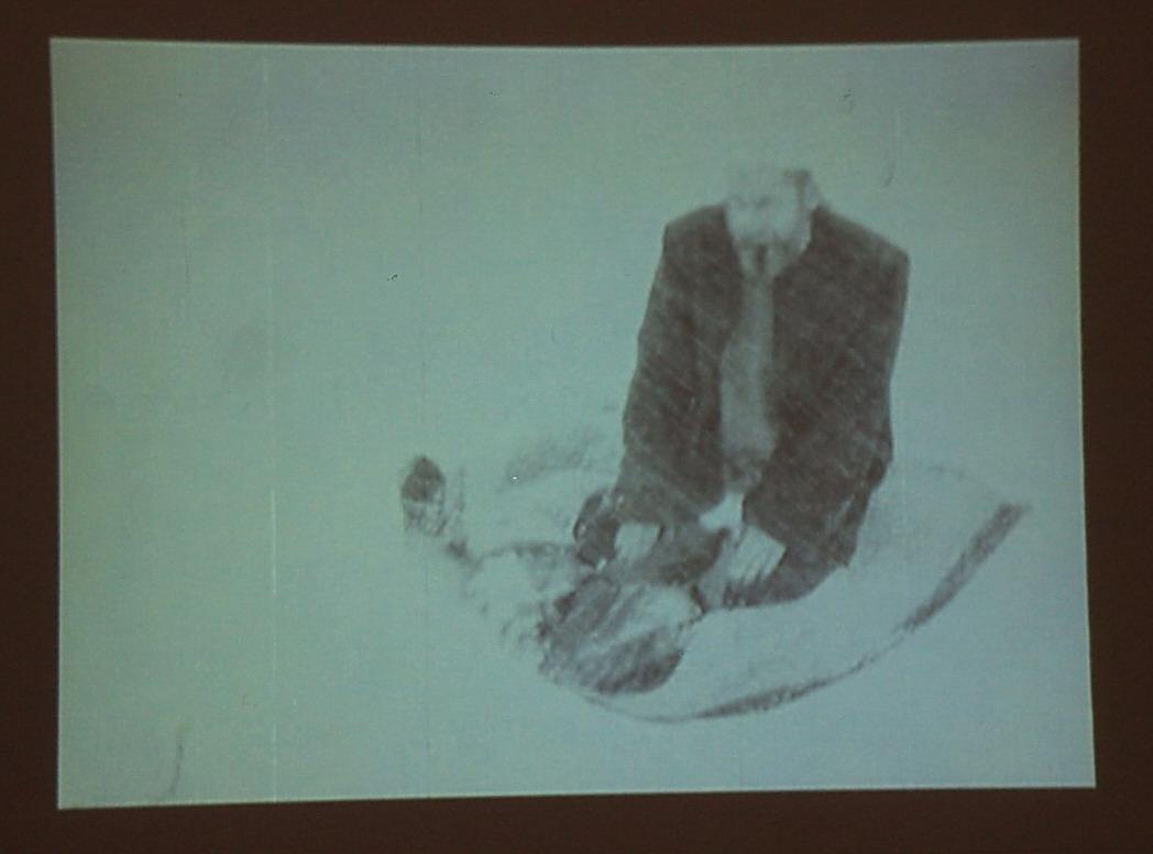 Александр Николаев.Молитва 2. Видео-арт. 2007