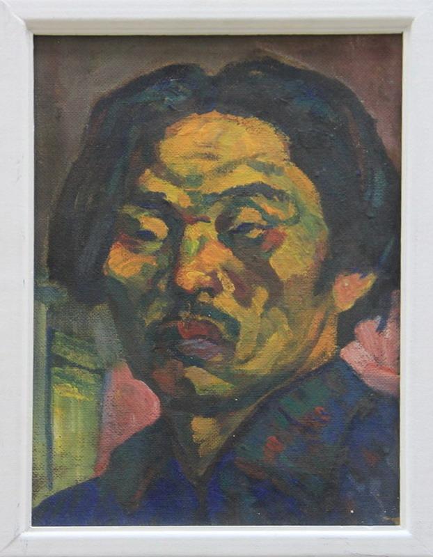 Николай Шин. Автопортрет. 1970.