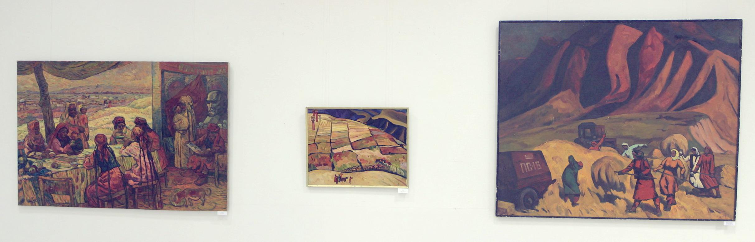 Николай Шин. Экспозиция картин. (2)