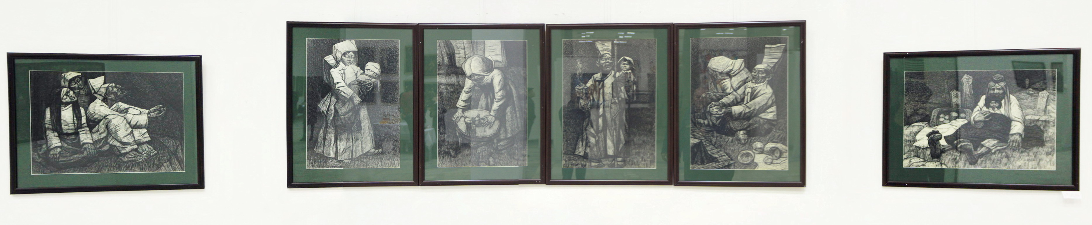 Николай Шин. Портрет к картине Легенда. 1981