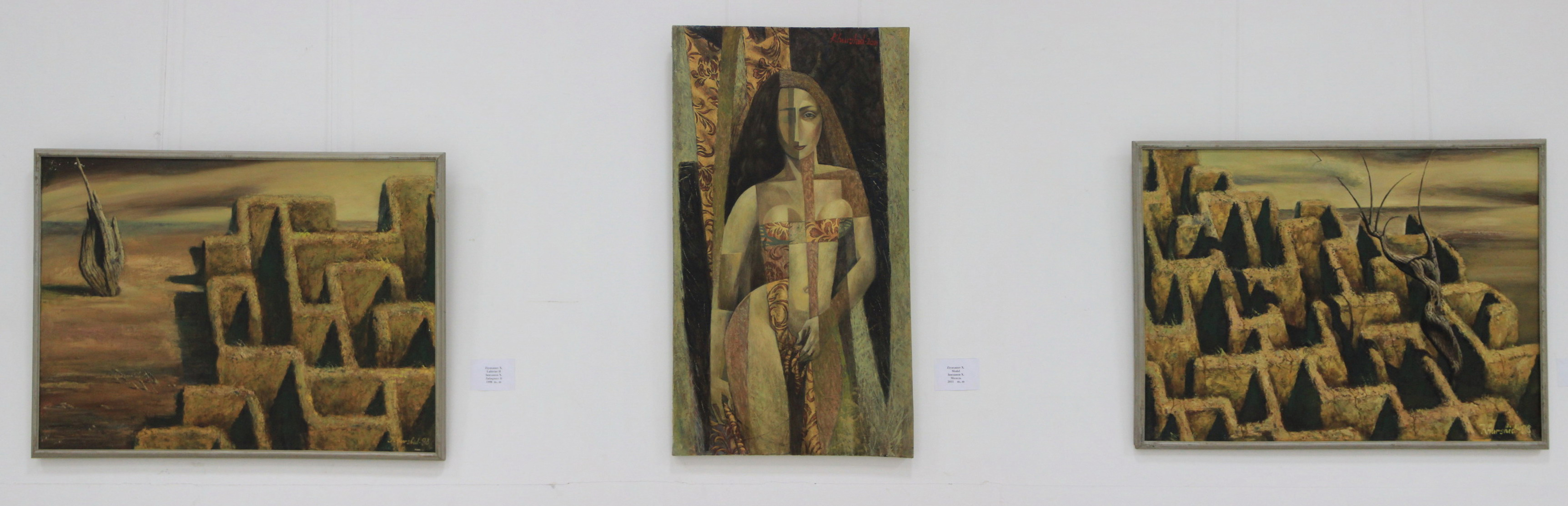 Зияханов Хуршид. Лабиринт 2. 1995, Модель. 2011, Лабиринт. 2011