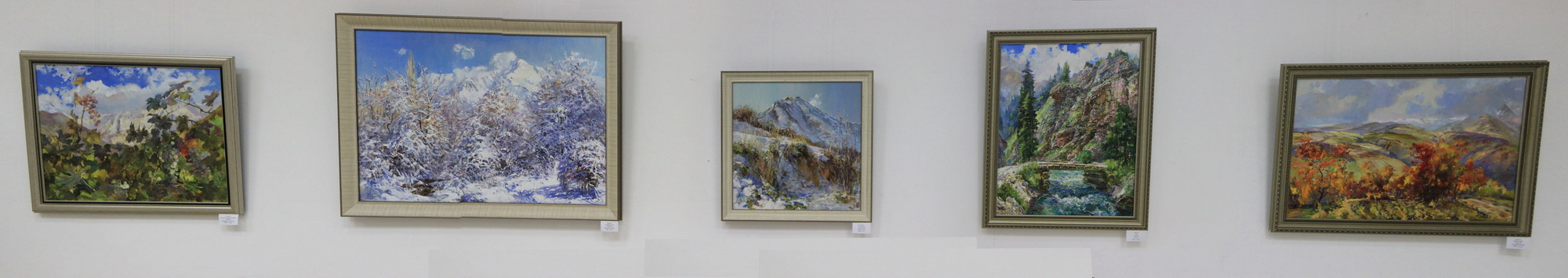 Енин Валерий. Экспозиция картин. 2018