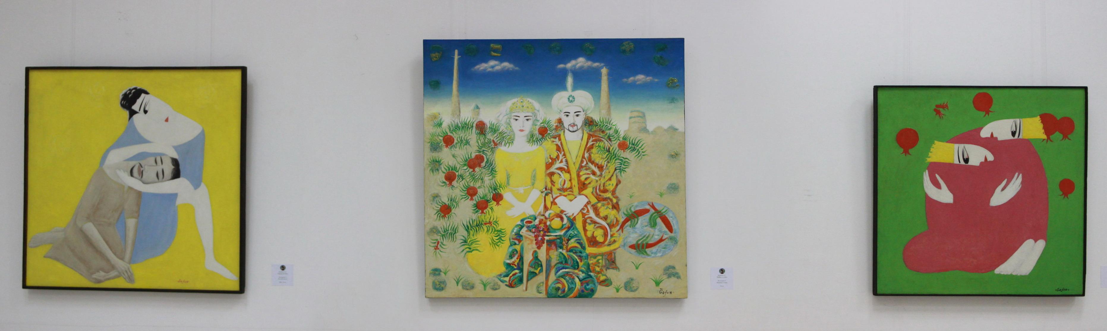 Гафур Кадиров. Экспозиция картин.