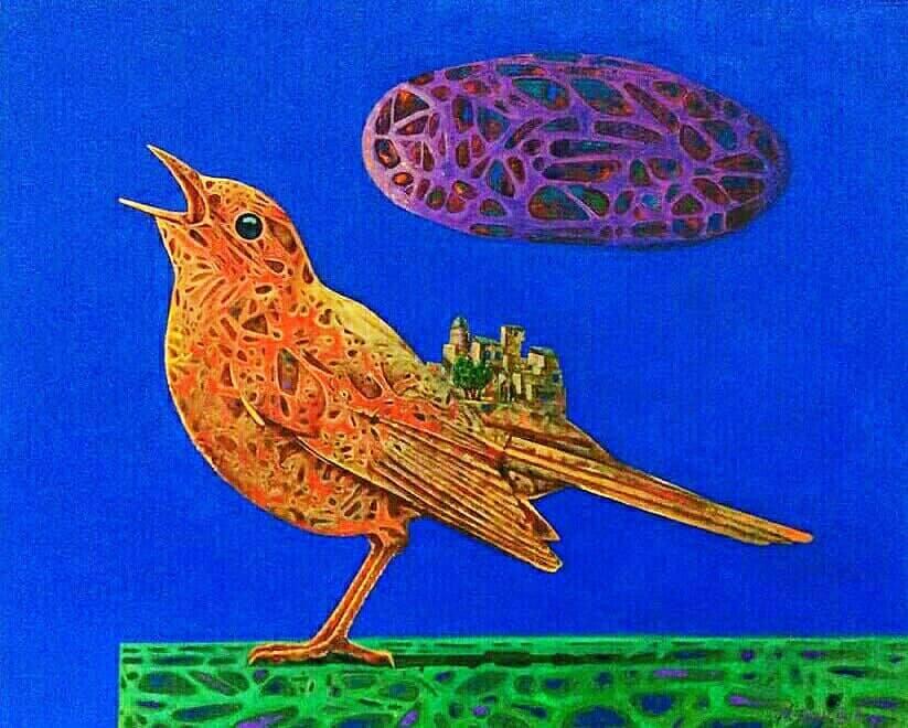 Мухаммад Фозили. Певчая птица.
