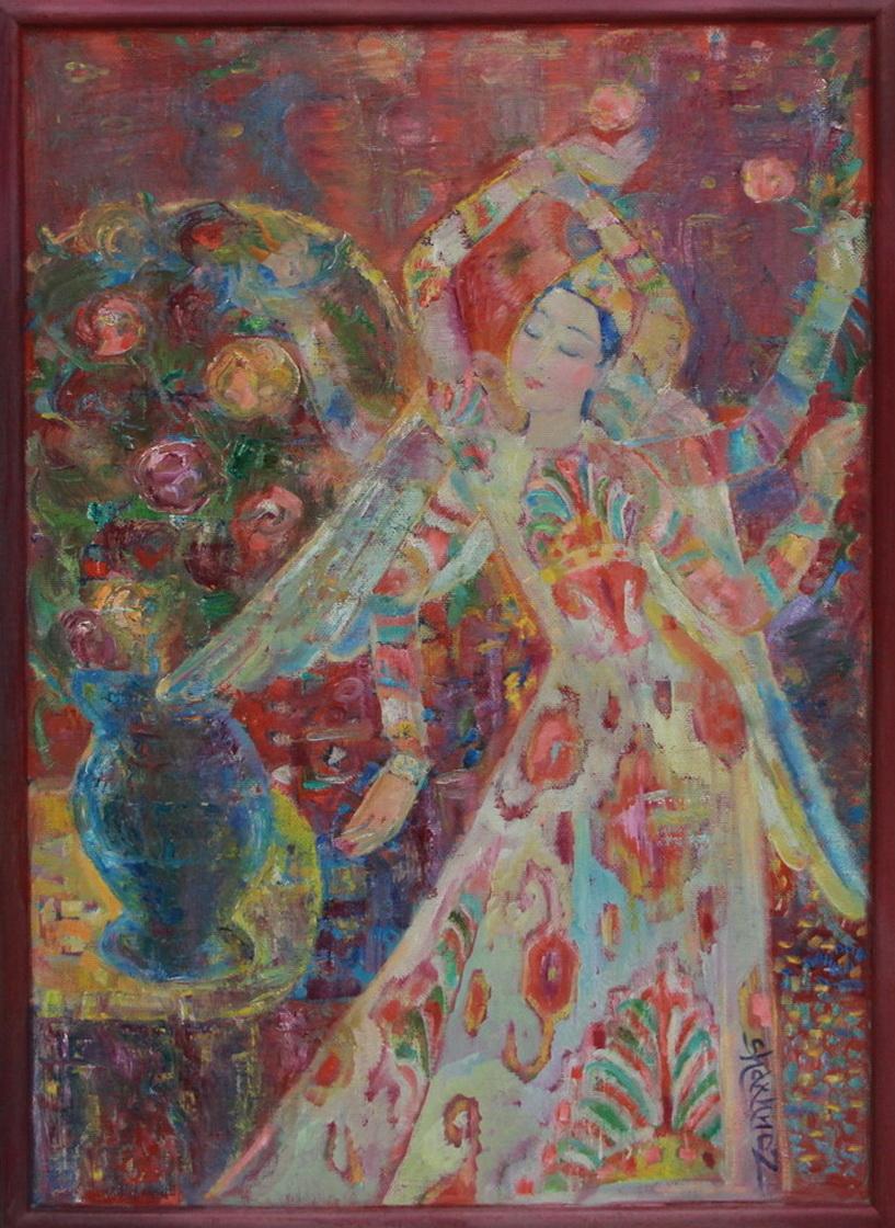 Шахноз Абдуллаева. Праздник розы. 2017
