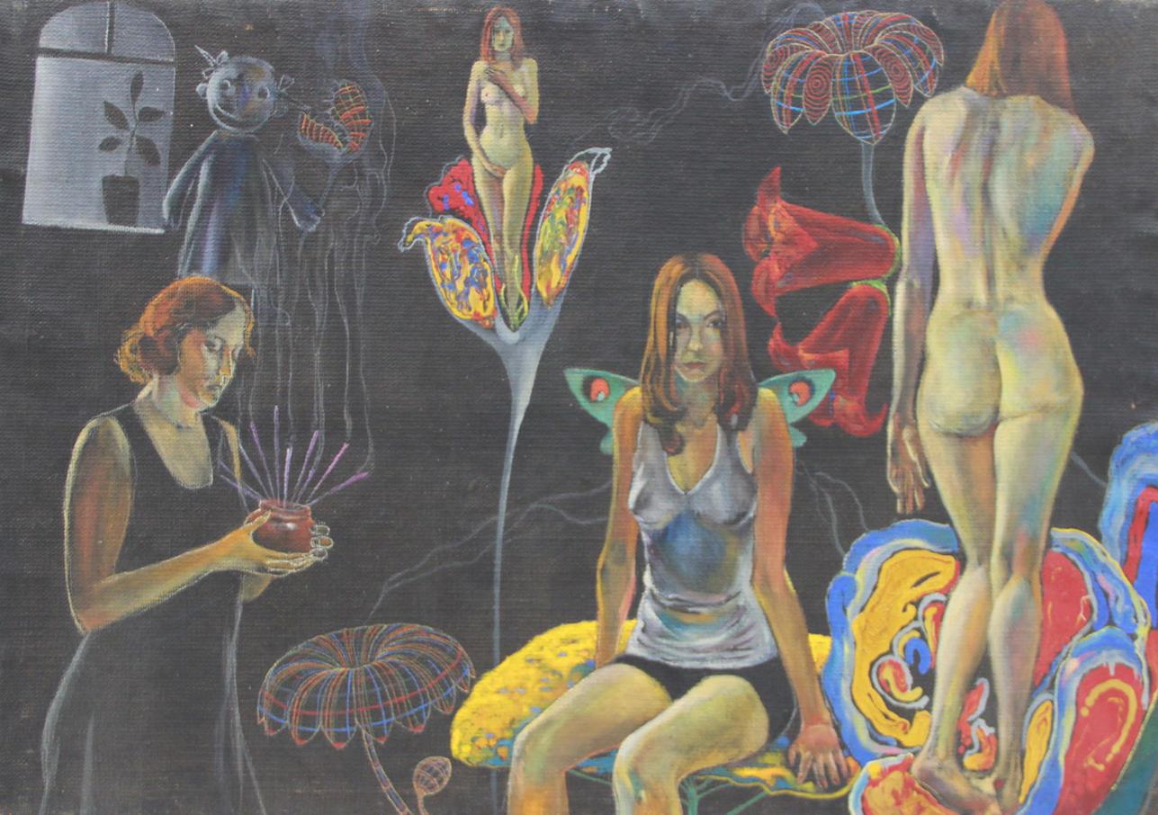 Евгений Панов. Аромат цветов. 1999 (ДХВ). Дар автора.