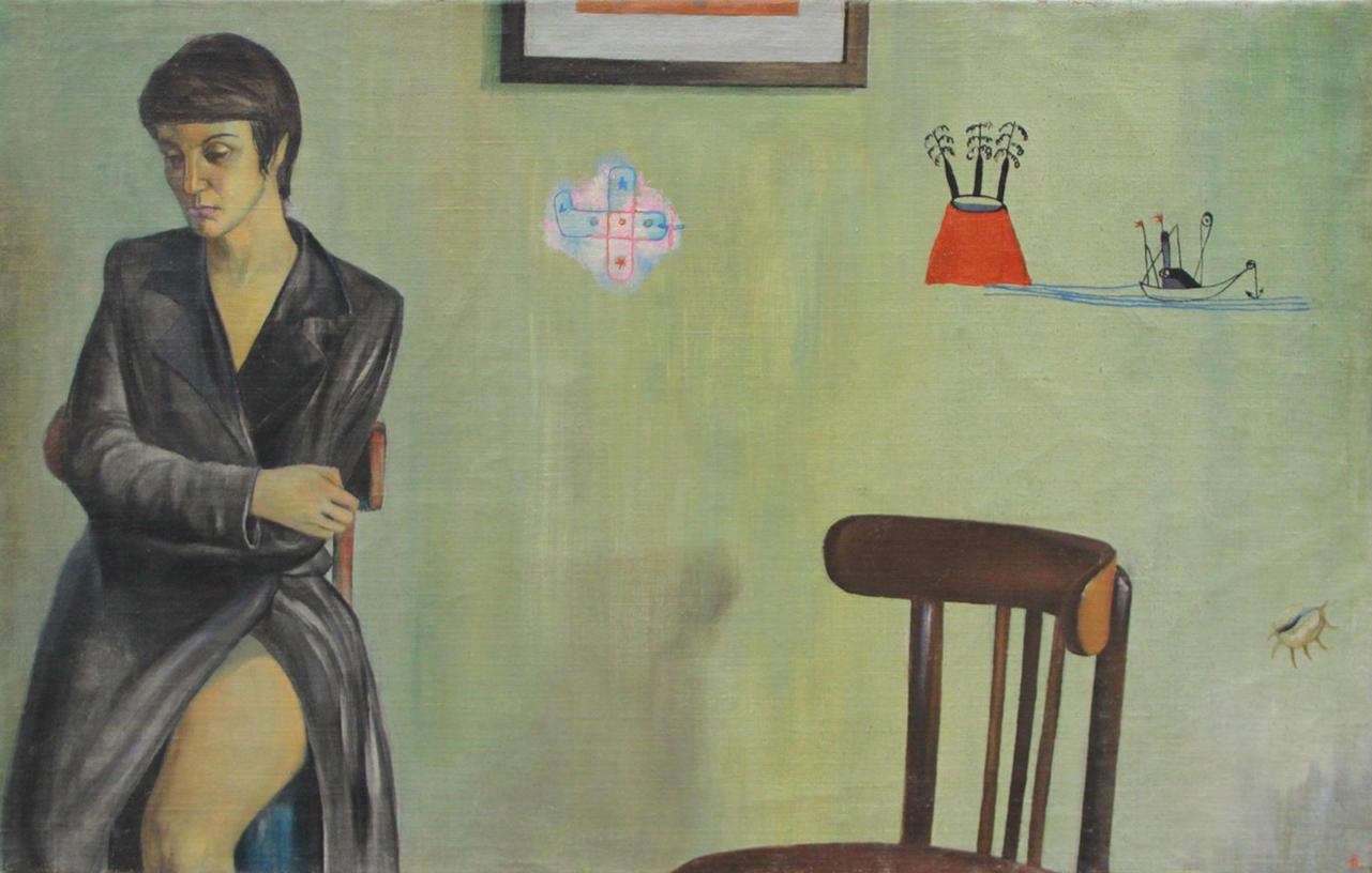 Евгений Панов. Мечта Нелли. 1999 (ДХВ). Дар автора.