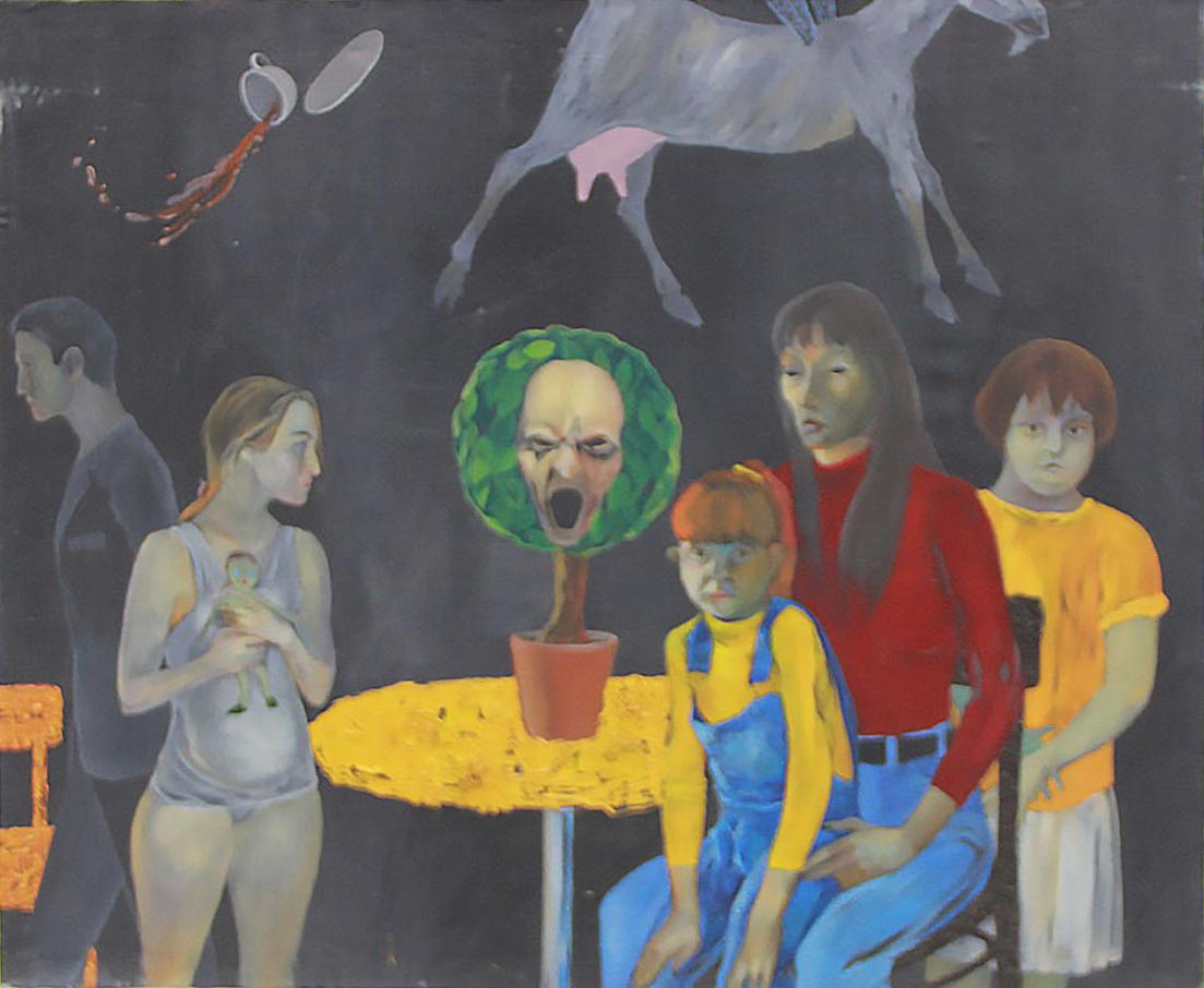 Евгений Панов. Обрывки дня. 1999 (ДХВ). Дар автора.