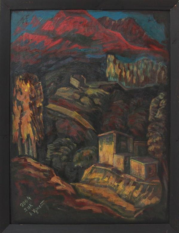 Кан Х. Горы в Алмазаре. 2004 (ДХВ)