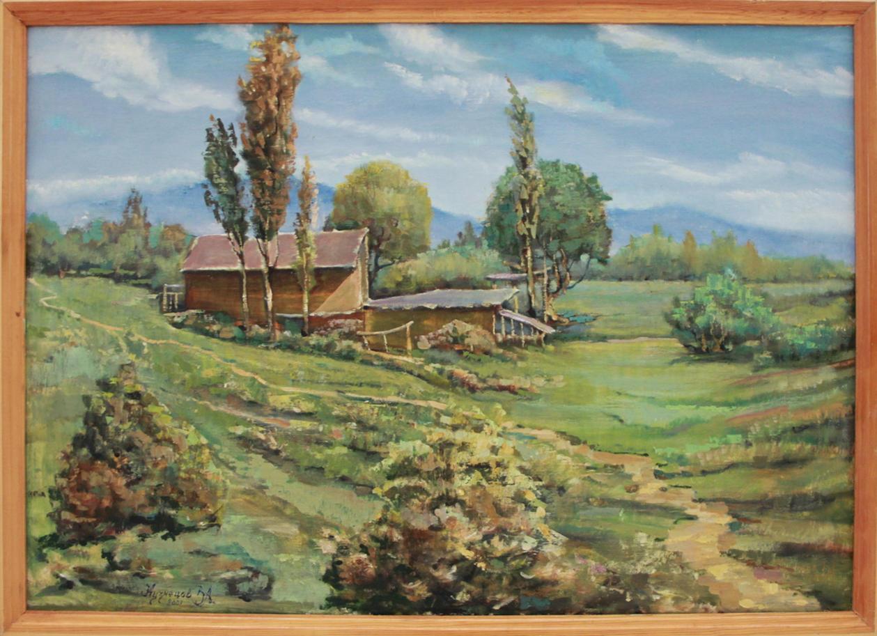 Кузнецов В. Лето в горах. 2001 (ДХВ)
