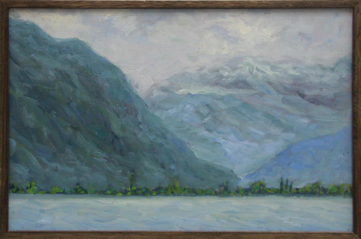 Павлова Е. У озера. Монтрё. 2014 (ДХВ)