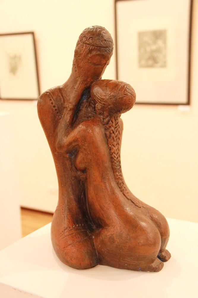 Султанова Гульзор. Поцелуй. 2004