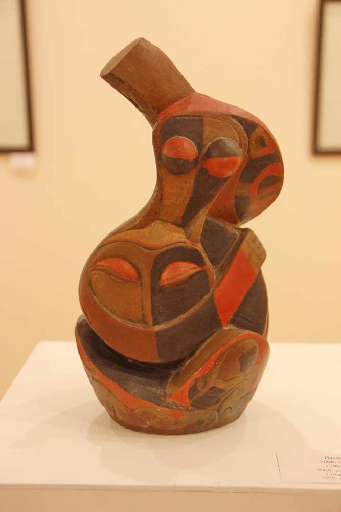 Султанова Гульзор. Соблазн. Керамика. 2008