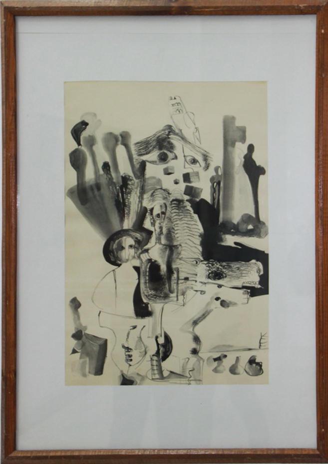 Зелимхан Саиджангов. Дон Кихот. 1970. (ДХВ). Дар Р.В. Еримян