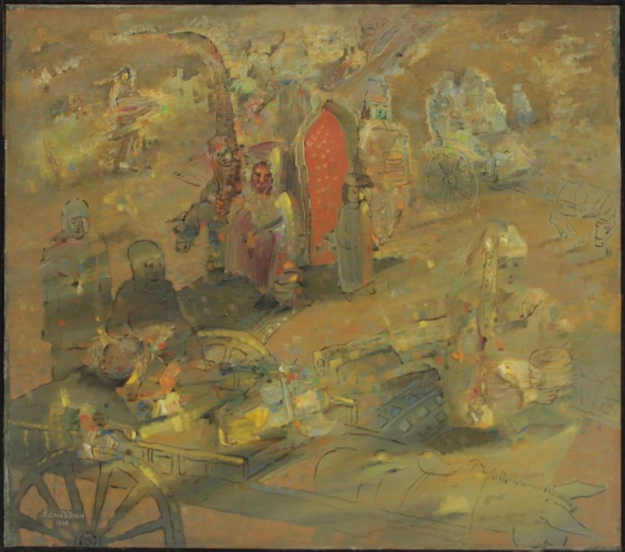 Аслиддин Исаев. Дух предков. 1996