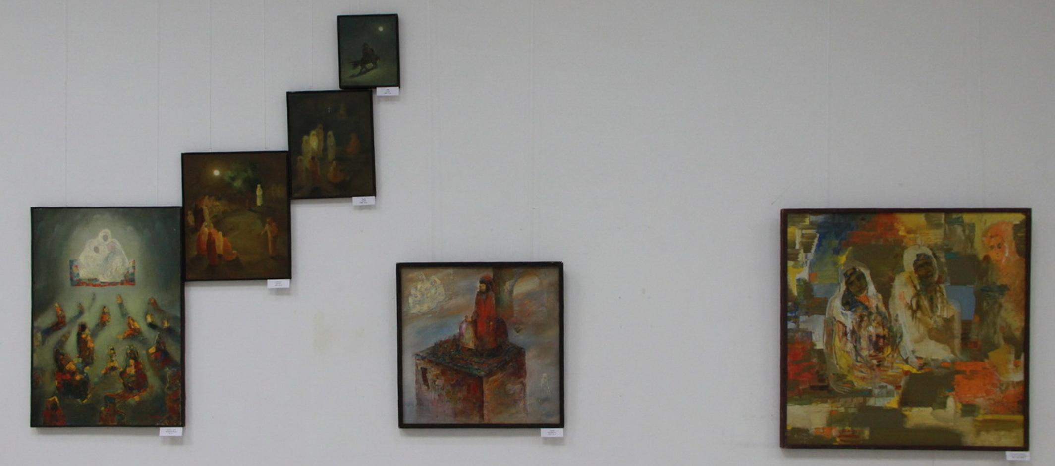 Аслиддин Исаев. Экспозиция картин. 2019 ЦВЗ