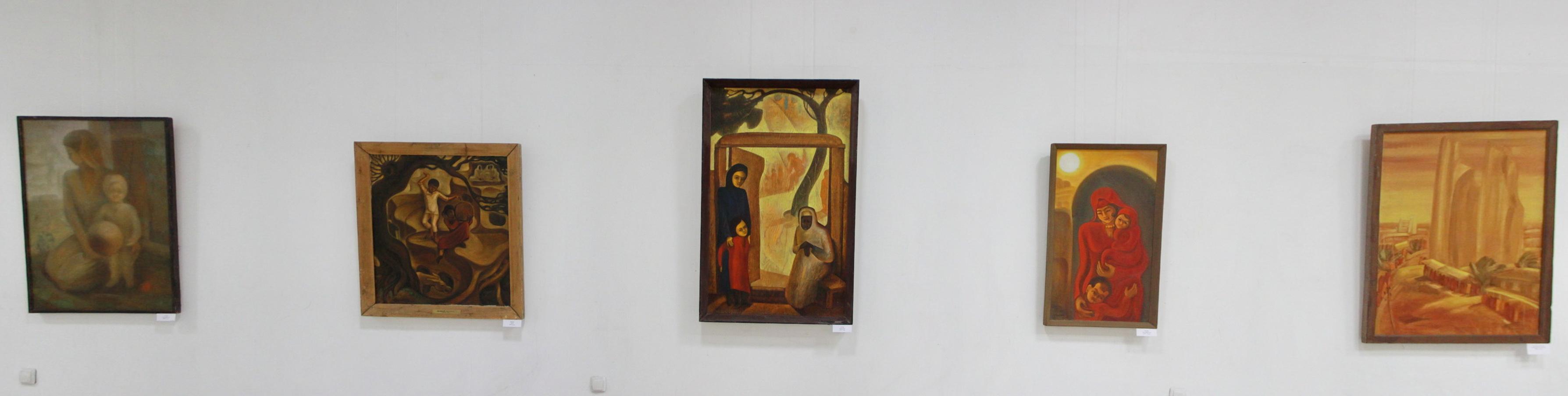 Аслиддин Исаев. Экспозиция картин. 2019 ЦВЗ (3)