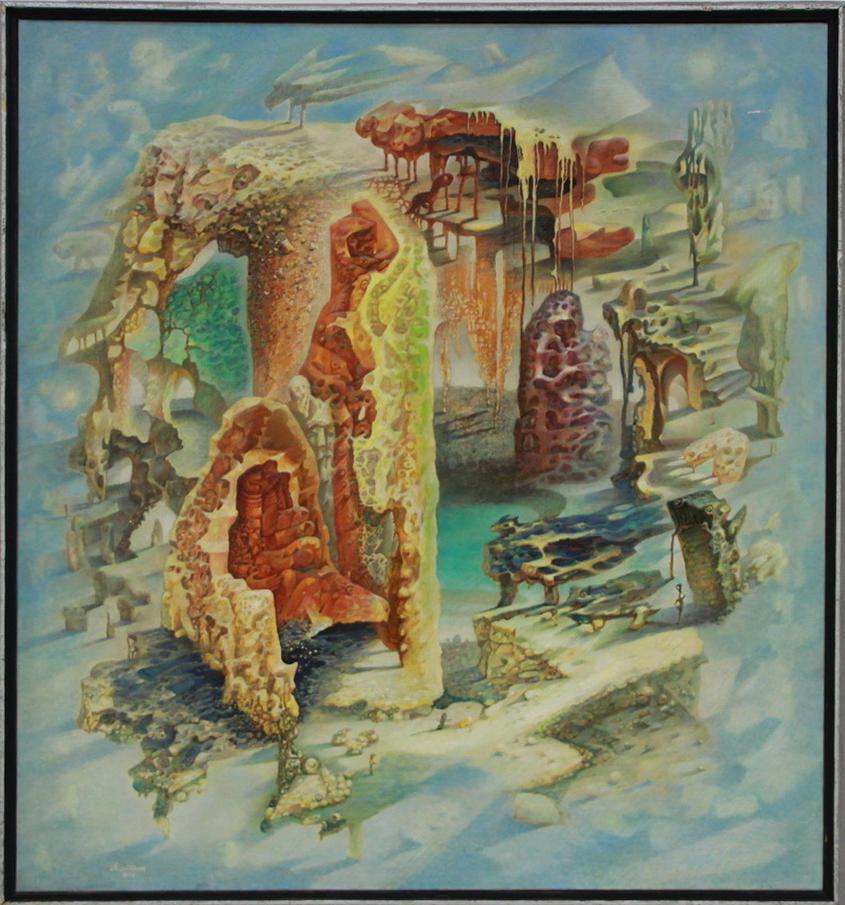 Аслиддин Исаев. Проникновение. 1995 (ЦВЗ)