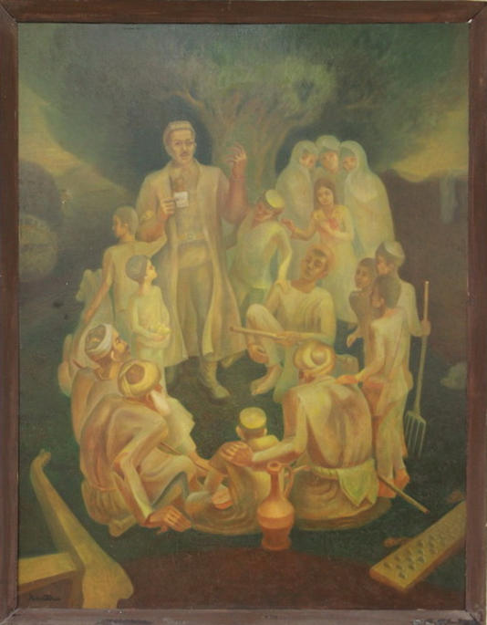 Аслиддин Исаев. Слова о земле. 1984-85