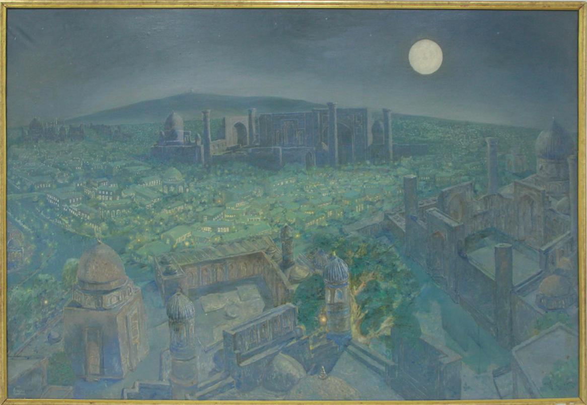 Аслиддин Исаев. Звёзды над Самаркандом. 1998