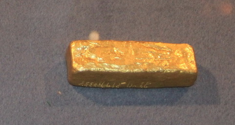 Брусок золота -2