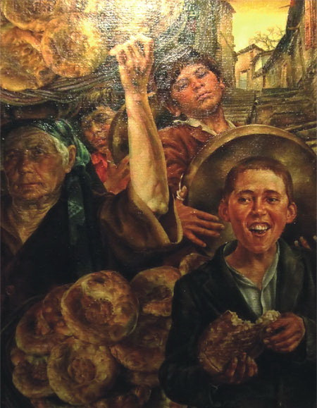 Григорий Зильберман.-Хлеб строго города. 1980