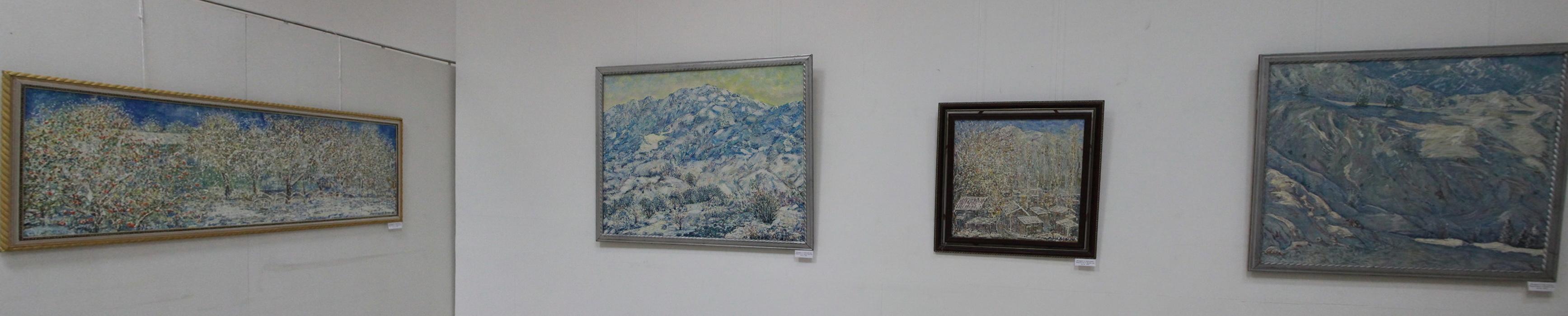 Мирсагатов Анвар. Экспозиция картин.