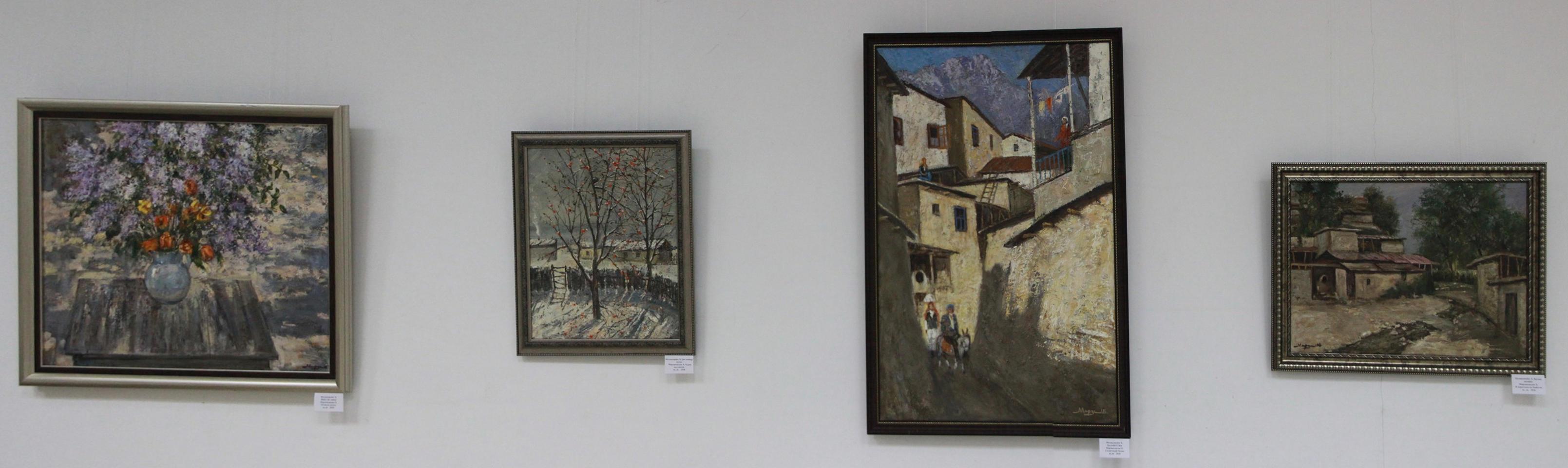 Хаким Мирзахмедов. Экспозиция картин.