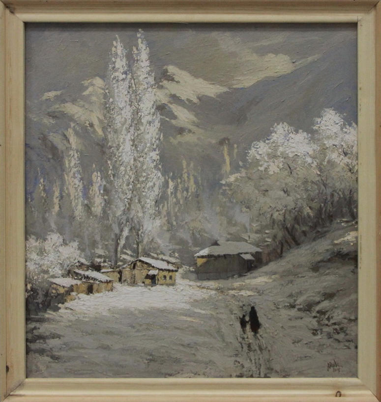 Пирназаров Наби. Зима в Сарчашме. 2019