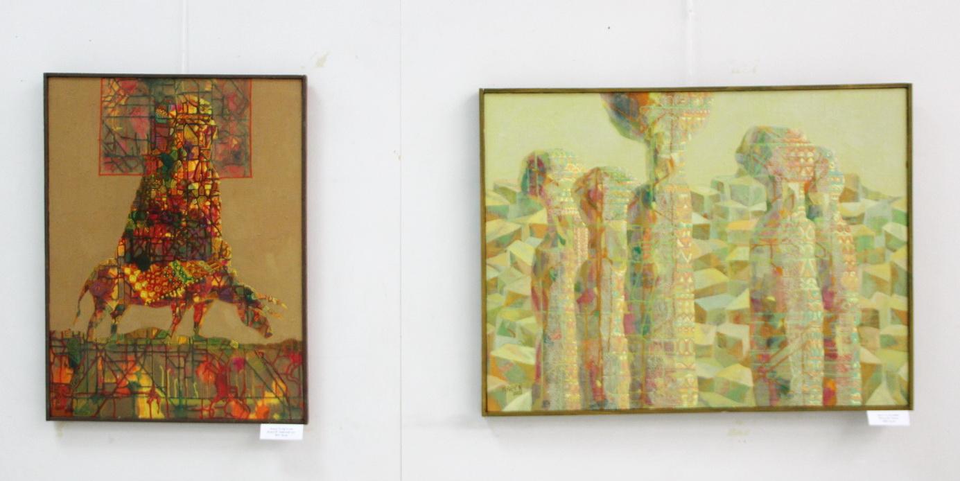 Исаев Аслиддин. Экспозиция картин.