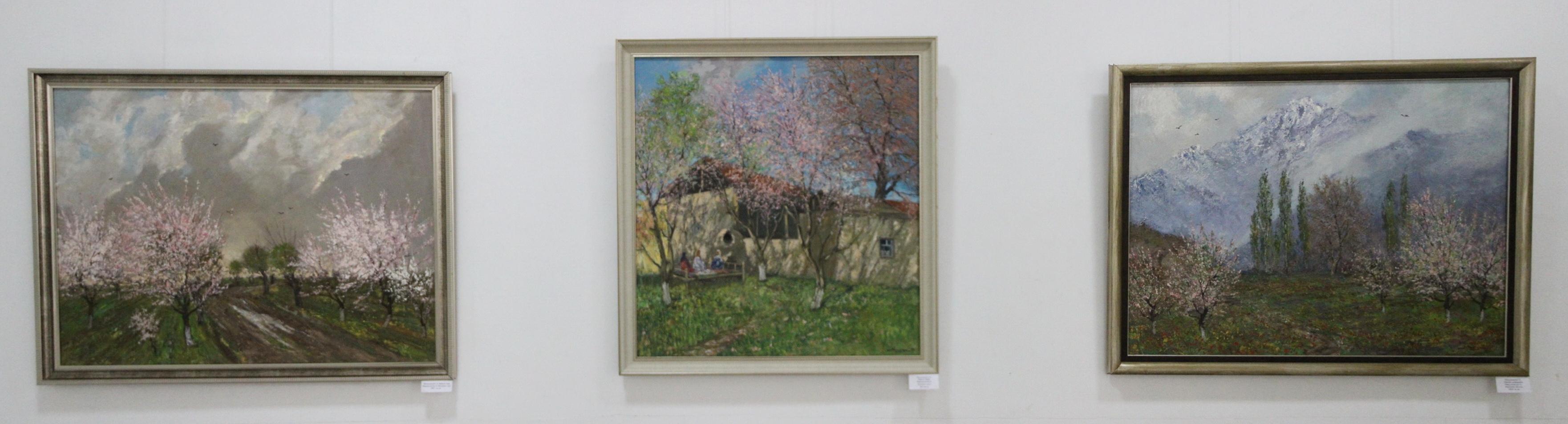 Мирзахмедов Хаким. Экспозиция картин.