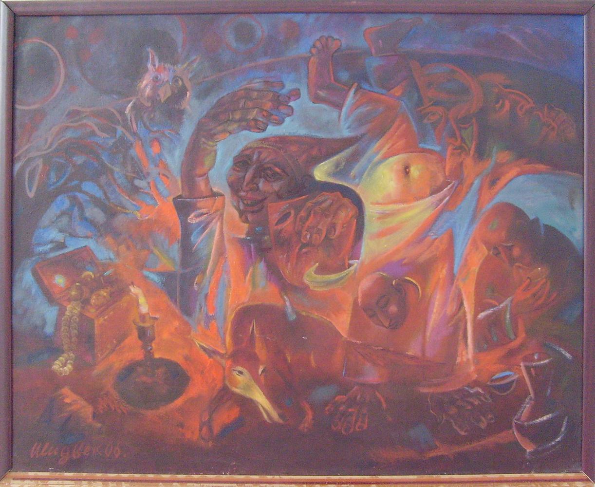 Болтабаев Улугбек. «Индийский клоун» по мотивам поэмы «Хайратул аброр» А.Навои