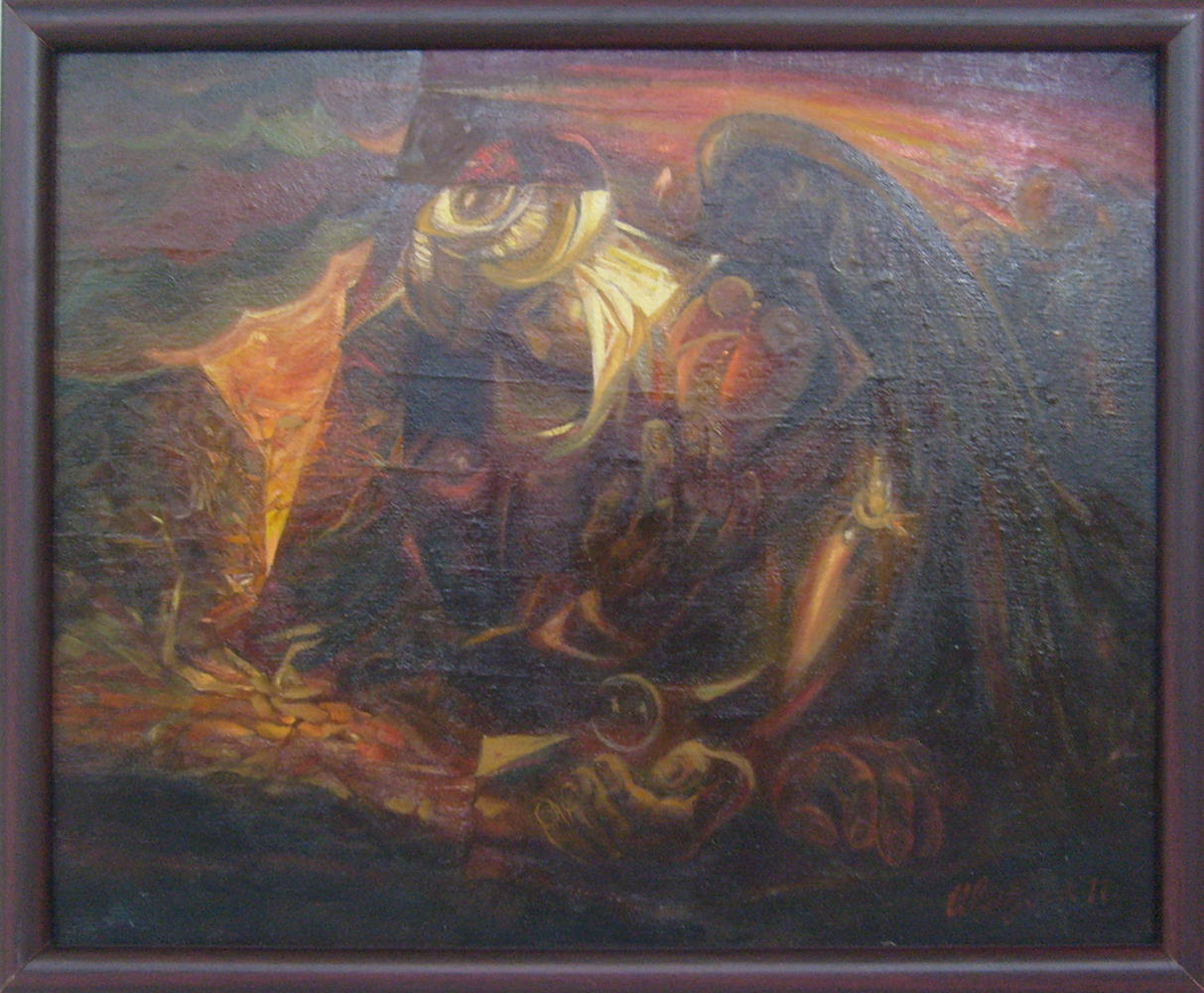 Болтабаев Улугбек. Раненный ангел.